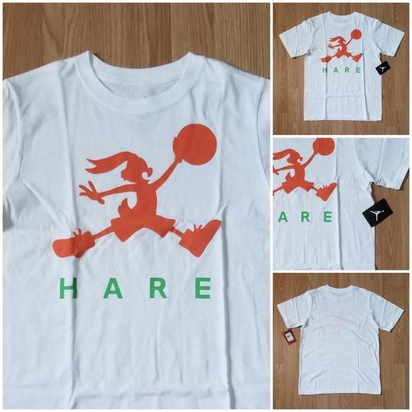60b240234983ba Nike Hare Jordan Retro 7 Jumpman Jump Bunny Tshirt